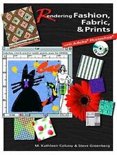 FAST SHIP - COLUSSY GREENBERG 1e Rendering Fashion, Fabric and Prints with A EN9