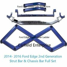 2014-2016 Ford Edge Lincoln MKX 2nd SUV Strut Tower Chassis Bar Brace Ladder Set