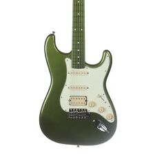 Fender Japan Limited Stratocaster SSH Electric Guitar - Mirage Green to Orange