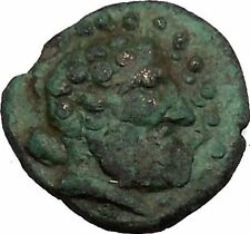 SELGE in PISIDIA 2nd Cent BC Ancient Greek Coin Winged thunderbolt i39030