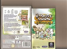 HARVEST MOON WONDERFUL LIFE GAMECUBE / WII RARE FARM