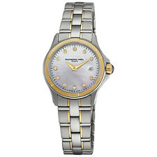RAYMOND WEIL Parsifal Gold & Diamond Ladies Watch 9460-SG-97081 - RRP £1750 -NEW