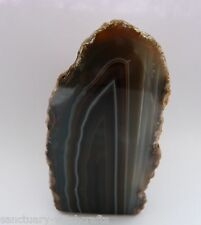 Beautiful Natural Banded Agate Geode. 133g.