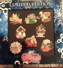 Mickeys Very Merry Christmas Party 2011 8 Pin LE Pin Set