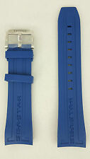 Tissot Sea Star 1000 T066427A Watchband T603031454 Blue Rubber Strap Replacement