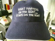 Captains Cap für Sea Ray Bayliner Glastron Boot Motorboot Segelboot BoatYacht