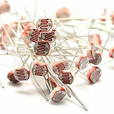 30PCS Photo Light Sensitive Resistor Photoresistor Optoresistor 5mm GL5539