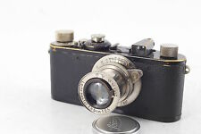 LEICA I HEKTOR 2.5/5cm  from 1927 year serial 4 digits mushroom button EARLY