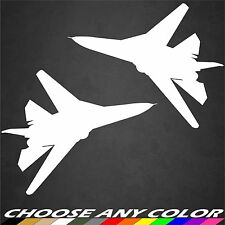 2 US Air Force F-111 Aircraft Sticker Military Vinyl Graphics Decal Sticker Car
