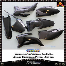 TTR110 PLASTICS FENDER KIT FOR 125/140/150/160/200 CC Yamaha Replica Dirt Bike