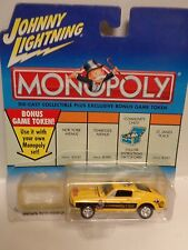 Johnny Lightning~MONOPOLY~1968 Ford Mustang GT~Community Chest~Game
