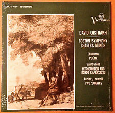 DAVID OISTRAKH CHASUSSON POEME RCA VICTROLA VICS 1058 MUNCH 1S/1S RARE EXCELLENT