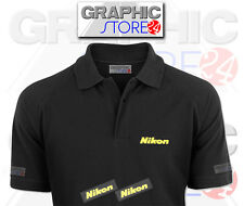 2x Nikon Iron on Logo Clothing Decals