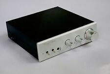 Class A HIFI Audio Preamplifier Finished In Case BASS+TREBLE Tone Preamp