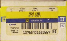 SQUARE D 8501 NR45 Relay Socket Front Wired