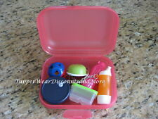 Tupperware NEW Packable Mini Kit Fridgesmart Keychains Magnets Set #2 COLLECTOR