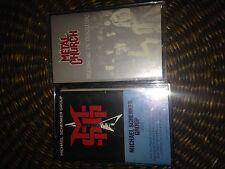 Metal Church Blessing In Disguise Michael Schenker Group MSG Tape Lot (2)