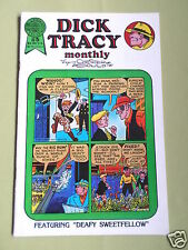 DICK TRACY - MONTHLY - BLACKTHORNE USA COMIC - #5 - 1986