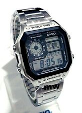 Casio AE1200 AE1200WHD World Time Illuminator Digital Men's Watch AE-1200WHD-1A