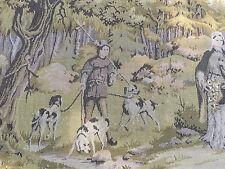 Gobelin Wandteppich Historismus Jagdszene 190 cm x 70 cm Wandbehang