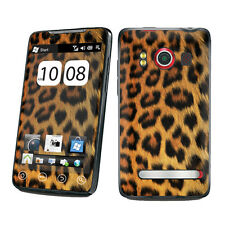 Black Yellow Cheetah Vinyl Case Decal Skin To Cover Your Sprint HTC EVO 4G