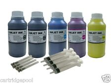 Refill Pigment ink kit for Epson 126 T126 NX430 60 435 520 545 630 633 5x250ML/S