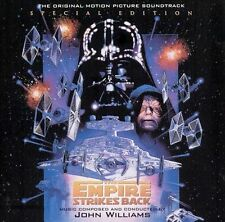 THE EMPIRE STRIKES BACK 2 CD'S SOUNDTRACK SPECIAL EDITION MOVIE POSTER ARTWORK