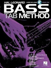 Hal Leonard Bass Tab Method Play Rock Pop BON JOVI The Who Guitar Music Book &CD