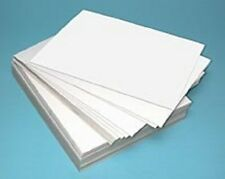 100 LARGE SHEETS OF KIDS PLAIN WHITE DRAWING / PAINTING / PLAY PAPER