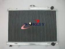 2 ROW For Nissan Skyline R33 R34 GTR GTS-T alloy aluminum radiator