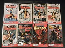 Marvel Comics Savage Wolverine 1 2 3 4 5 6 7 8 9 10 11 13 NM FREE SHIPPING