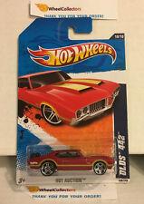 Olds 442 #168 * RED Walmart * 2011 Hot Wheels * N189