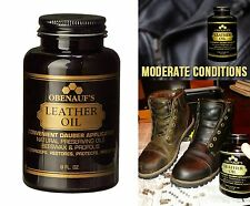 Leather Oil Restore Protect Shine Polish Boots Shoes Furniture Car Seat Obenauf