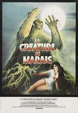 SWAMP THING Movie POSTER 11x17 French Adrienne Barbeau Louis Jourdan Ray Wise