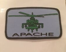 "Apache  Helicopter US Army Military embroidered patch patches 4""x 2"""
