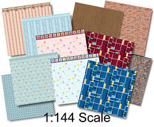 1:144 Scale Dollhouse - Wee Little Wallpapers 4, Dollhouse or Dutch Baby Scale