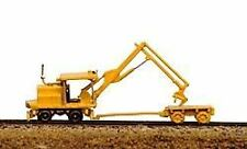 RAILWAY EXPRESS MINIATURES N SCALE MOW KERSHAW TIE CRANE/CART KIT | BN | 2011