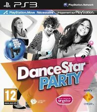 22747 // DANCE STAR PARTY PLAYSTATION MOVE NECESSAIRE PS3 NEUF SOUS BLISTER