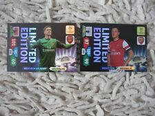 PANINI ADRENALYN XL CHAMPIONS  ARSENAL CARDS  2013/ 2014  limited OZIL