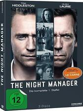 The Night Manager - Staffel 1 - 3 DVDs - Tom Hiddleston, Hugh Laurie