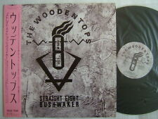 PROMO LABEL / THE WOODENTOPS STRAIGHT EIGHT BUSHWAKER / WITH OBI