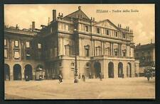 Milano : Teatro della Scala-  cartolina non viaggiata anni '10/'20