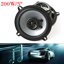 5Inch 127mm 4ohm 200W Max 2 Way Car Coaxial Audio Music Stereo Speaker SubWoofer