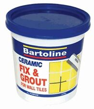 ADHESIVE FIX & GROUT 0.5kg CERAMIC TILES WOOD HOME BATHROOM FILLER
