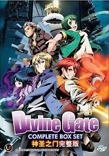 Anime DVD: Divine Gate Complete Box Set (1-12 End)_Good Eng Sub_FREE SHIPPING