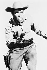 Audie Murphy Drawing Gun Western Outfit 11x17 Mini Poster