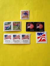 USPS (2) Various FOREVER STAMPS postage For 1st Class Mail.  Only 2