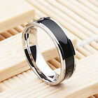 Mens Jewelry Free Shipping Vintage Stainless Steel Ring Band Titanium