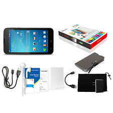 "6"" Android 4.4 Smartphone Quad Core Unlocked 3G GSM GPS Best Android Cell Phone"