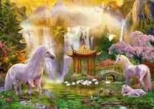 EDUCA PUZZLE UNICORN VALLEY OF THE WATERFALLS JAN PATRIK KRASNY 500 PCS #16270